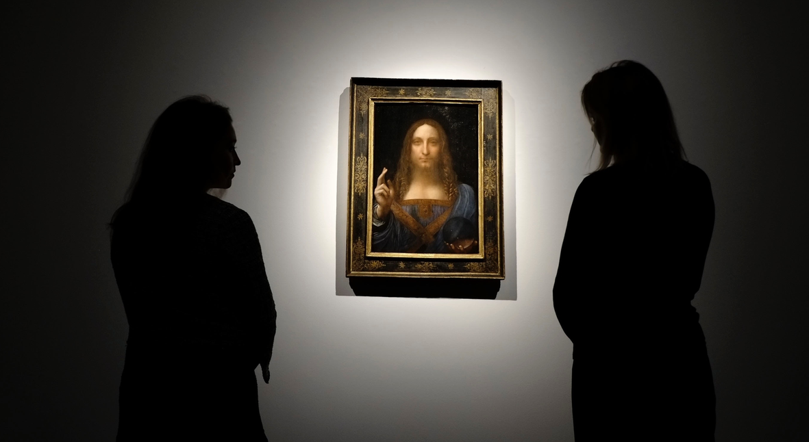 Salt: главное здесь, остальное по вкусу - Пропавшую картину Леонардо да Винчи нашли на яхте саудовского принца
