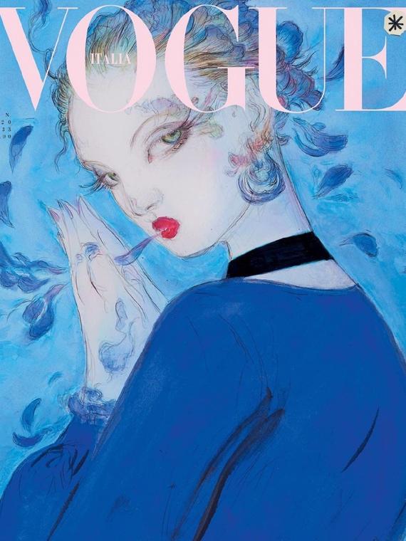 Salt: главное здесь, остальное по вкусу - В январском номере Vogue Италия не будет ни единой фотографии