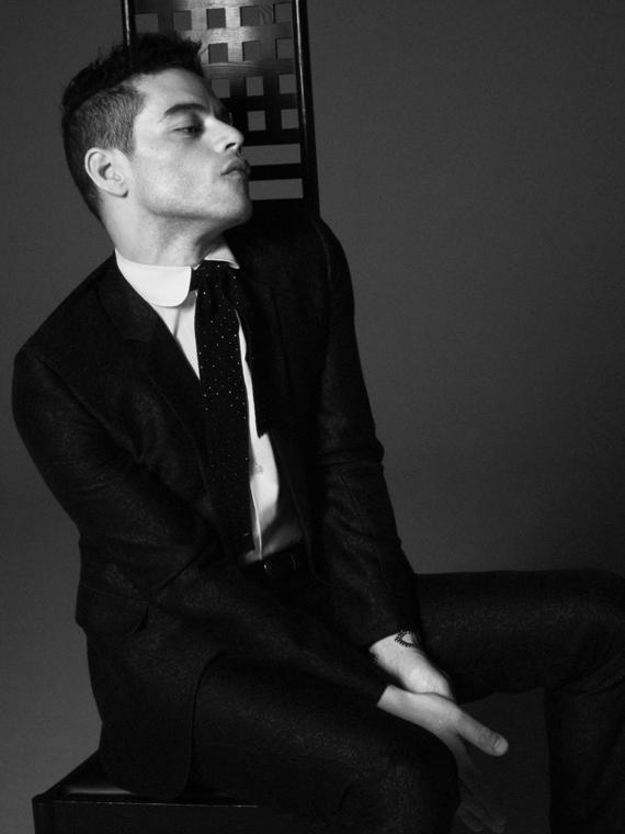 Salt: главное здесь, остальное по вкусу - Рами Малек снялся в рекламной кампании Yves Saint Laurent
