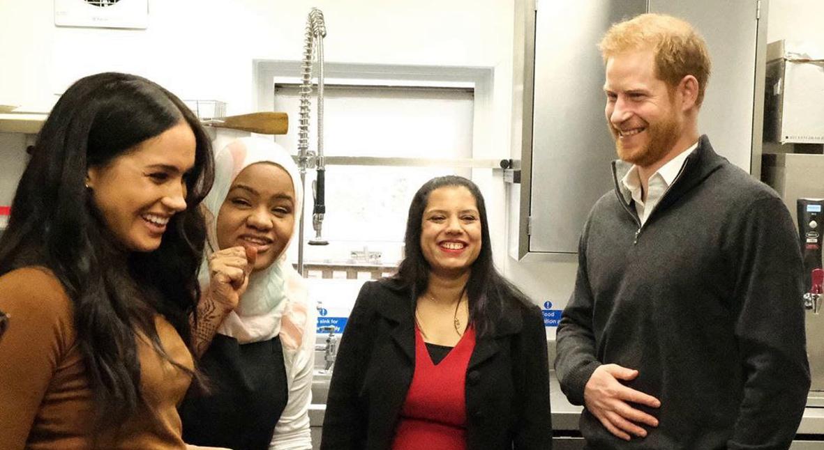 Salt: главное здесь, остальное по вкусу - Меган Маркл и принц Гарри вновь посетили общественную кухню сообщества Гренфелл