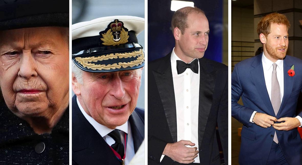 Salt: главное здесь, остальное по вкусу - Елизавета II созвала экстренное совещание с принцами Чарльзом, Уильямом и Гарри