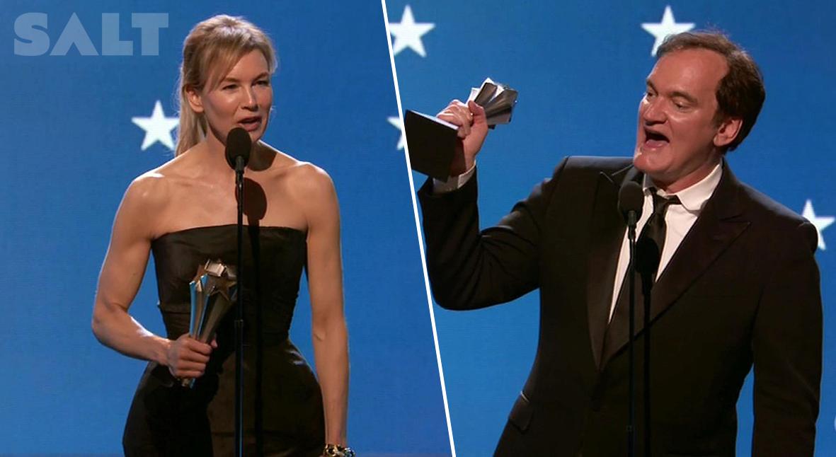 Salt: главное здесь, остальное по вкусу - Хоакин Феникс, Рене Зеллвегер, Квентин Тарантино: список победителей Critics' Choice Awards-2020