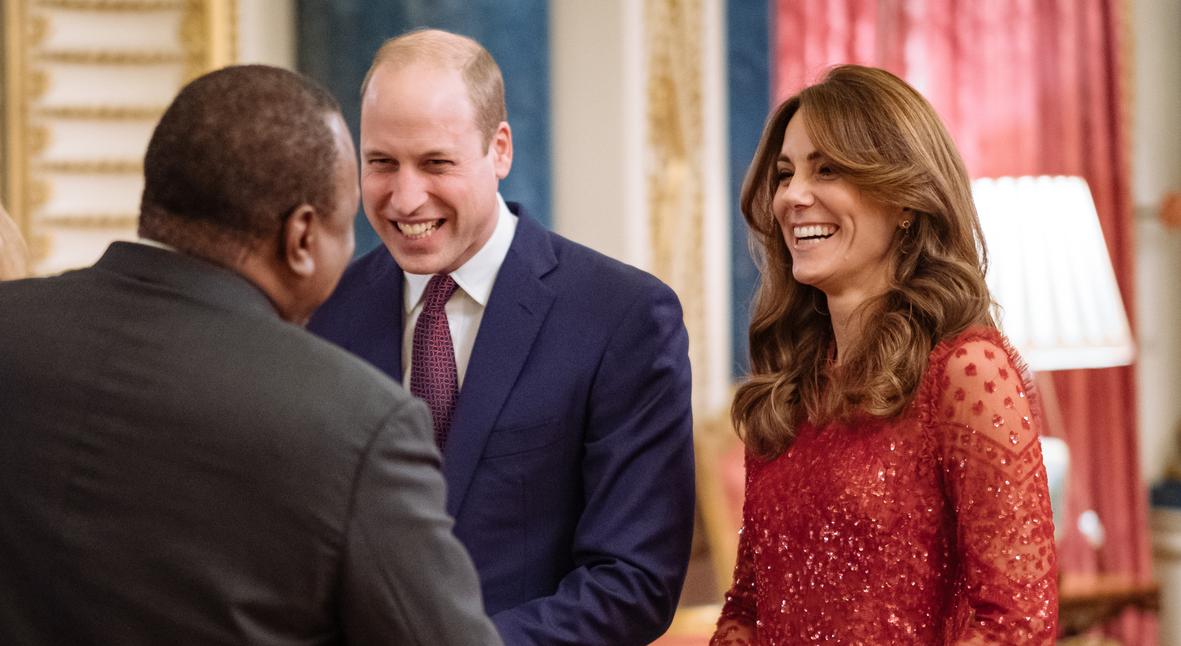 Salt: главное здесь, остальное по вкусу - Кейт Миддлтон, принц Уильям, принцесса Анна и другие посетили прием в Букингемском дворце