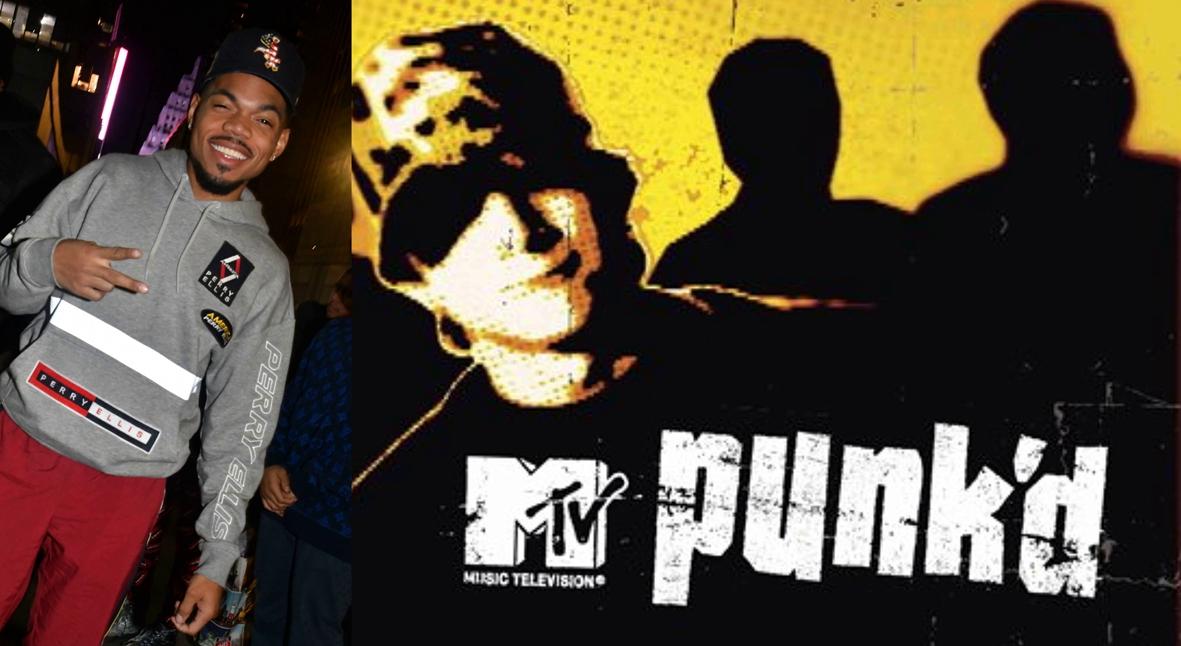 Salt: главное здесь, остальное по вкусу - MTV готовит ребут шоу «Подстава» — Эштона Кутчера заменит Chance the Rapper