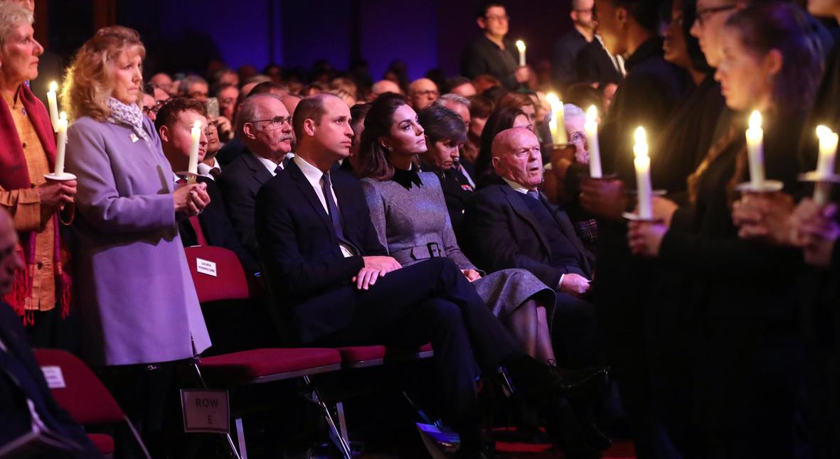 Salt: главное здесь, остальное по вкусу - Кейт Миддлтон и принц Уильям посетили церемонию в честь Дня памяти жертв Холокоста