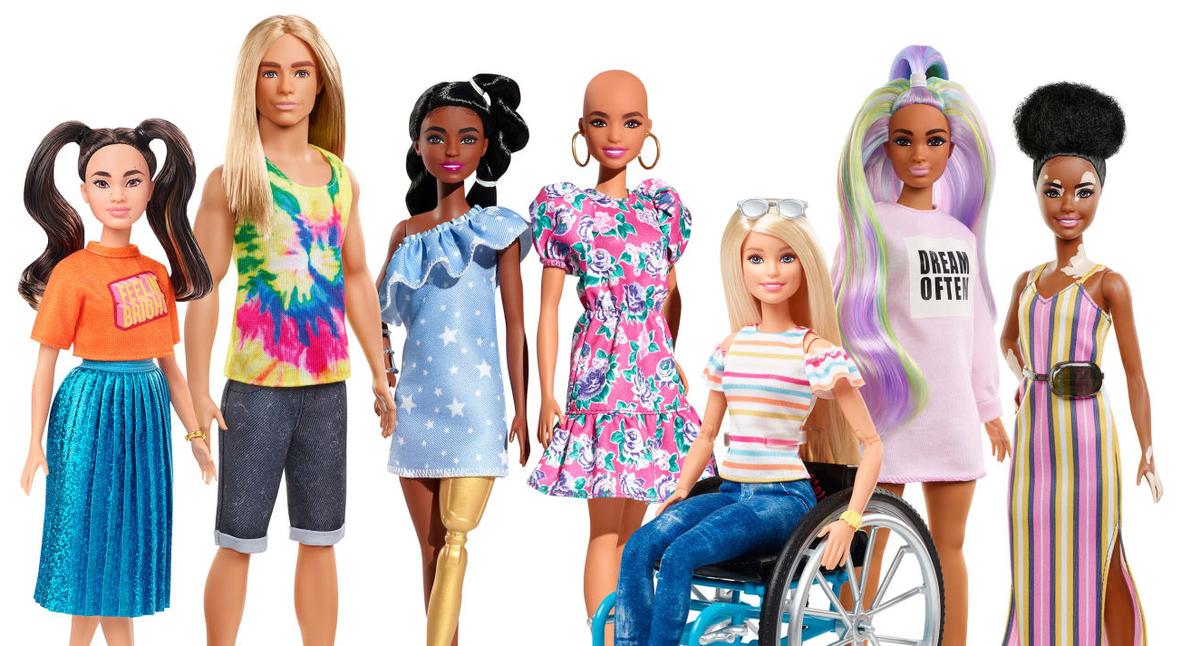 Salt: главное здесь, остальное по вкусу - Mattel выпустит новых Барби — с болезнью витилиго, протезами и без волос
