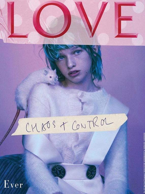 Salt: главное здесь, остальное по вкусу - Дочь Миллы Йовович снялась для обложки журнала Love