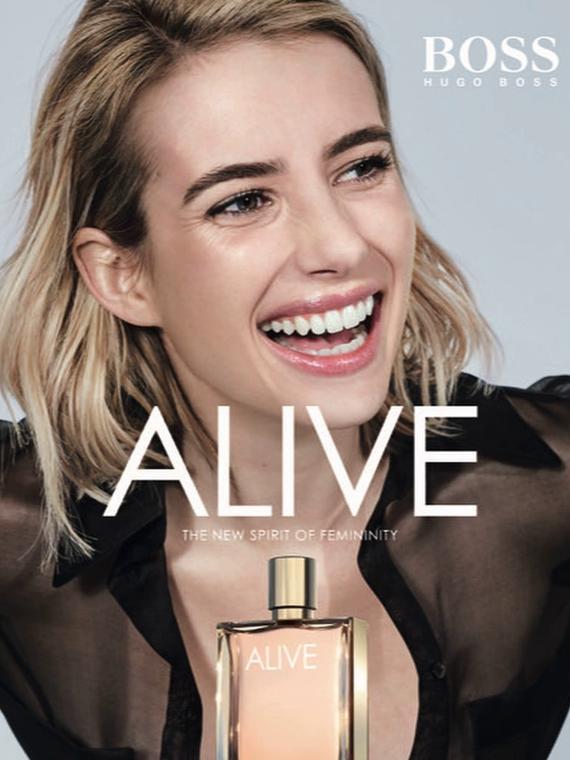 Salt: главное здесь, остальное по вкусу - Эмма Робертс стала лицом нового женского аромата Boss Alive