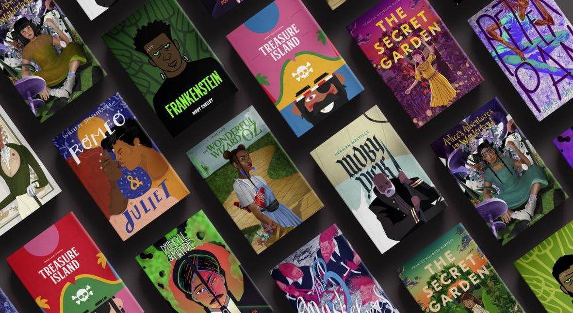 Salt: главное здесь, остальное по вкусу - Barnes & Noble создали обложки книг с темнокожими героями — но передумали выпускать серию