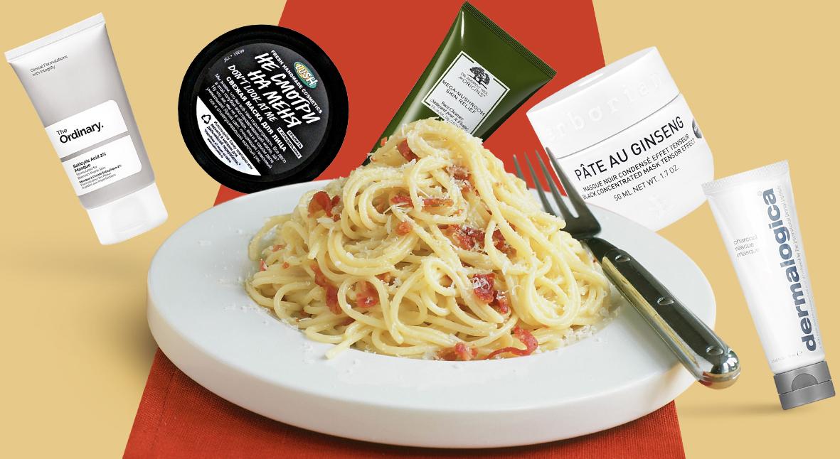 Salt: главное здесь, остальное по вкусу - Маски для лица и спагетти: что происходит с новым бьюти-трендом в Instagram