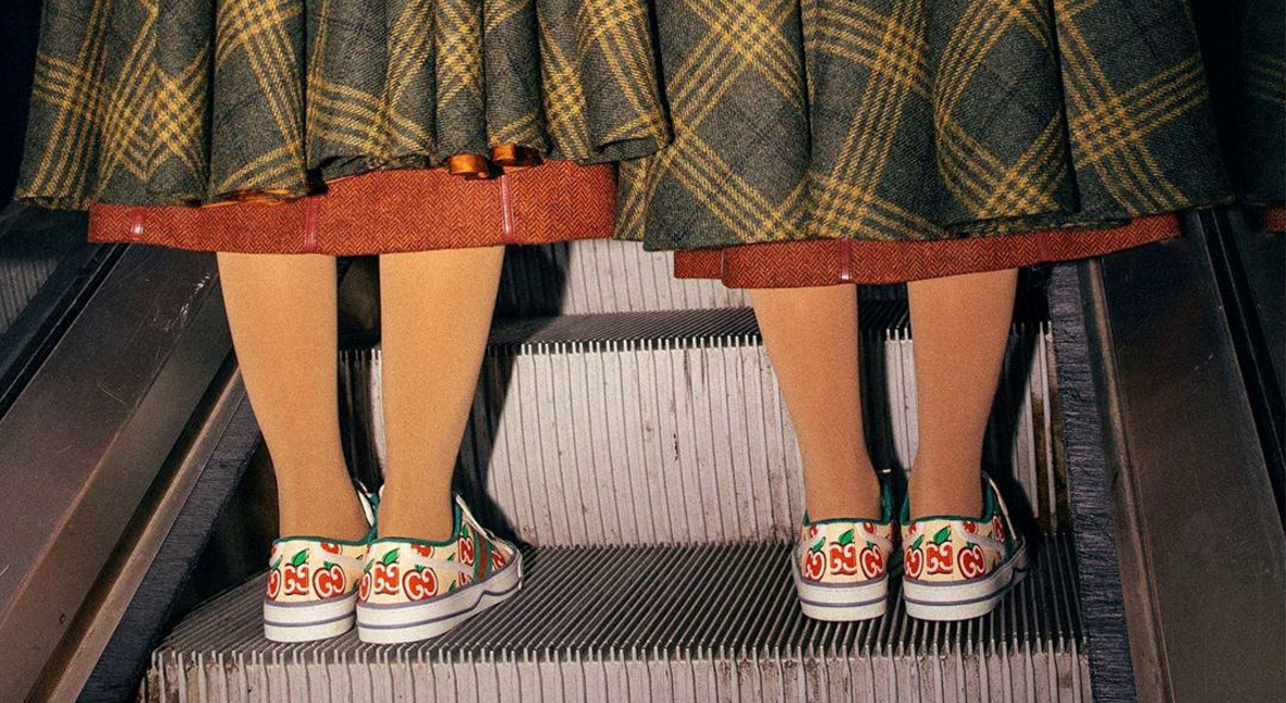 Salt: главное здесь, остальное по вкусу - Gucci посвятил новую рекламную кампанию «случайным» близнецам