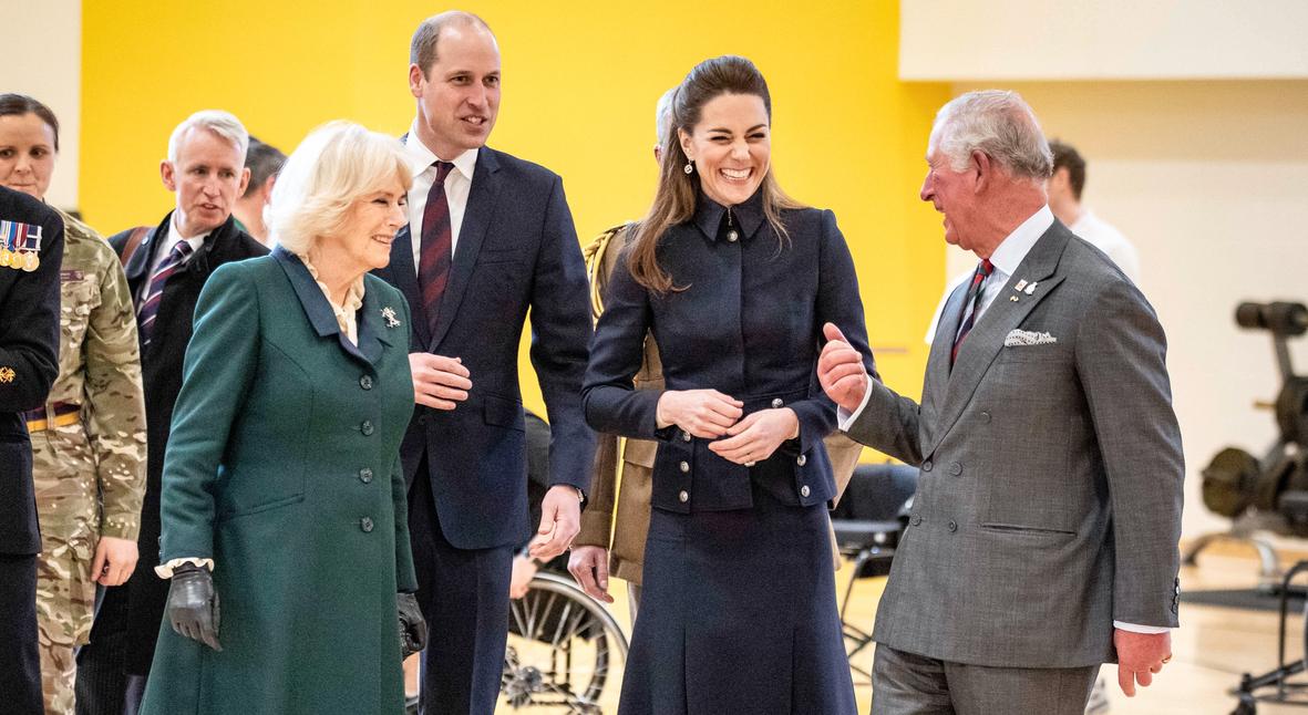 Salt: главное здесь, остальное по вкусу - Кейт Миддлтон и принц Уильям посетили реабилитационный центр вместе с принцем Чарльзом и Камиллой
