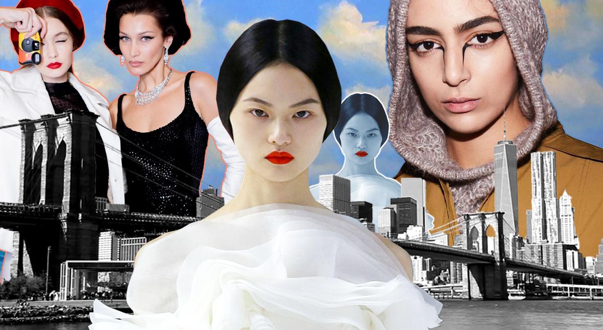 Salt: главное здесь, остальное по вкусу - Вампиры, 60-е и пирсинг: бьюти-образы Недели моды в Нью-Йорке