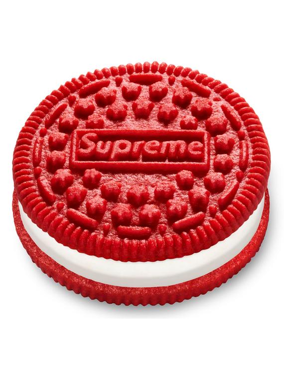 Salt: главное здесь, остальное по вкусу - Ярко-красное печенье: Supreme объявили о коллаборации с Oreo