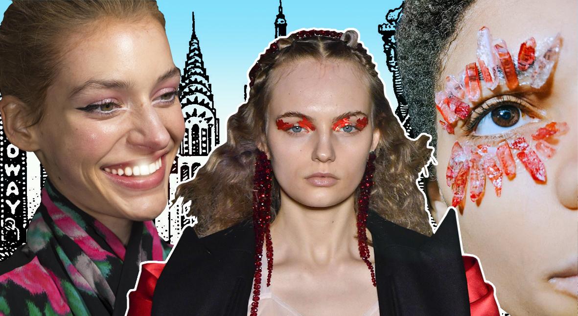Salt: главное здесь, остальное по вкусу - Минералы, фольга и зубная паста: бьюти-образы Недели моды в Лондоне