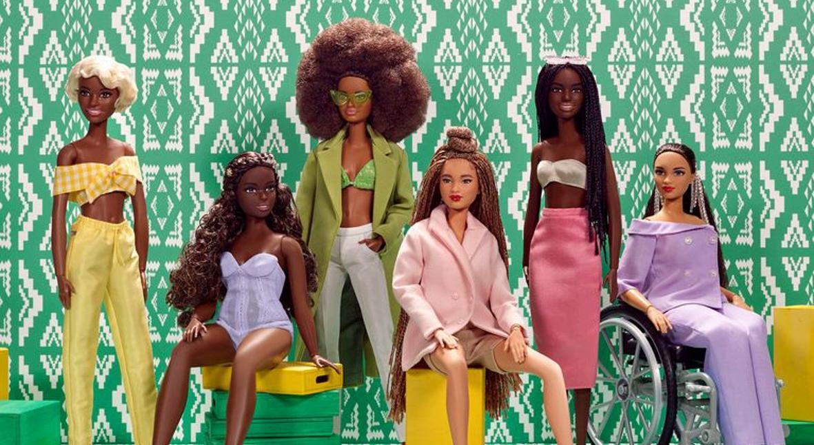 Salt: главное здесь, остальное по вкусу - Стилистка Шиона Турини разработала коллекцию темнокожих Барби