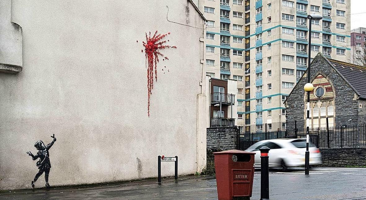 Salt: главное здесь, остальное по вкусу - Бэнкси обрадовало, что его граффити испортили вандалы