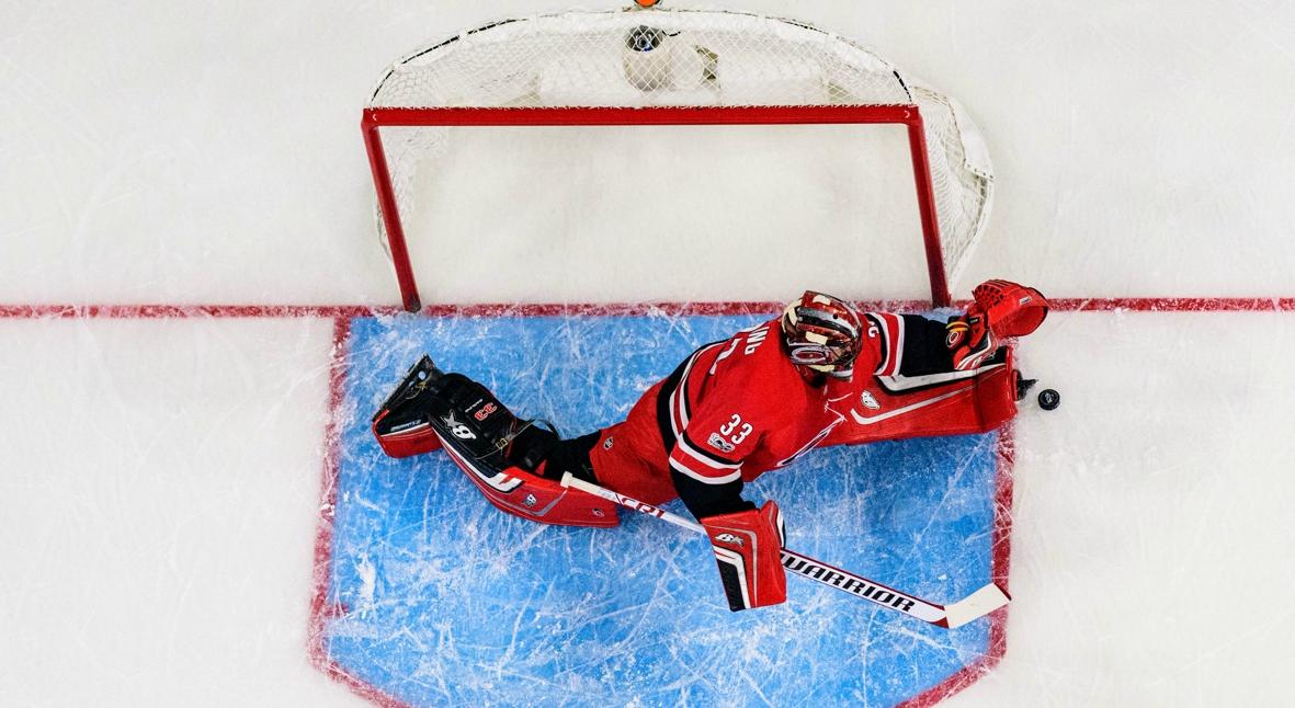 Salt: главное здесь, остальное по вкусу - Заливщик льда заменил вратаря в матче НХЛ и принес победу команде