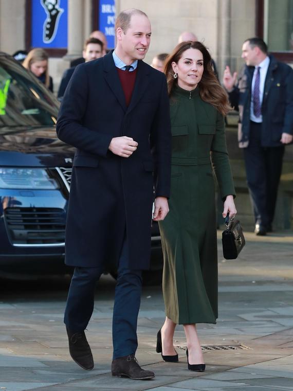 Salt: главное здесь, остальное по вкусу - Кейт Миддлтон и принц Уильям уедут в Ирландию, когда герцоги Сассекские вернутся в Англию