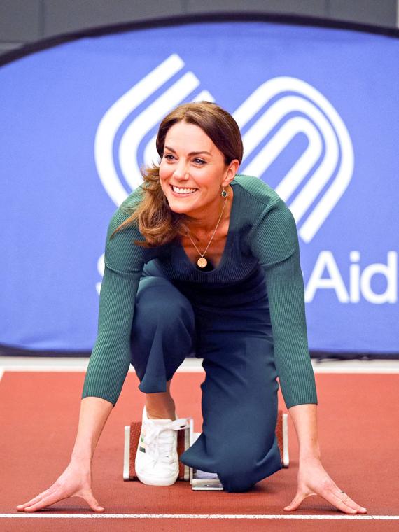 Salt: главное здесь, остальное по вкусу - Кейт Миддлтон приняла участие в тренировке в Олимпийском парке