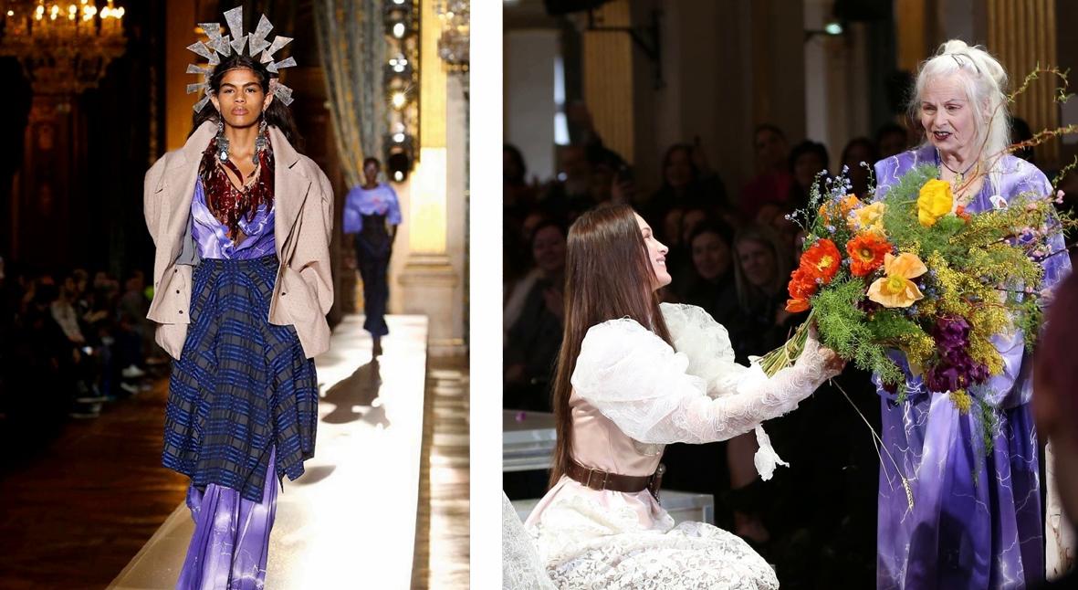 Salt: главное здесь, остальное по вкусу - Неделя моды в Париже: апокалиптика Balenciaga и Белла Хадид с кинжалом на показе Vivienne Westwood