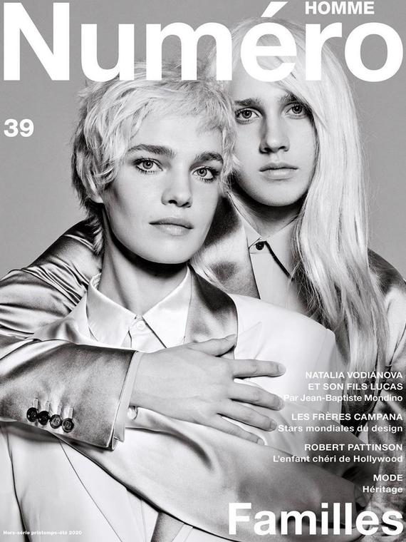 Salt: главное здесь, остальное по вкусу - Сын Натальи Водяновой примерил парик для обложки журнала Numero