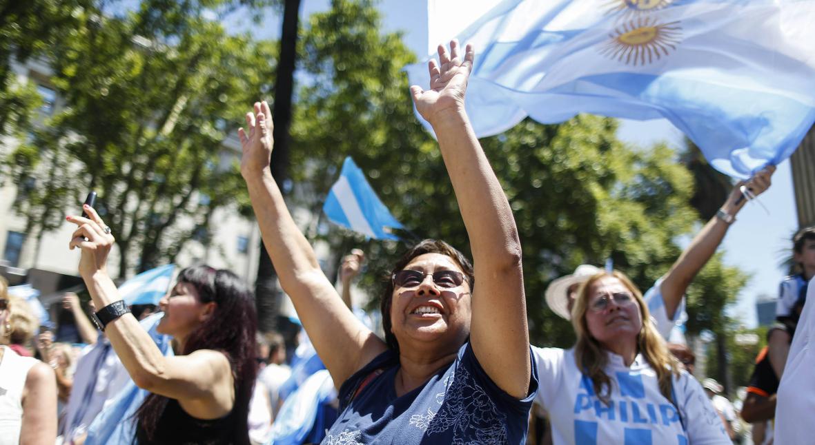 Salt: главное здесь, остальное по вкусу - Новый президент Аргентины выступил за легализацию абортов