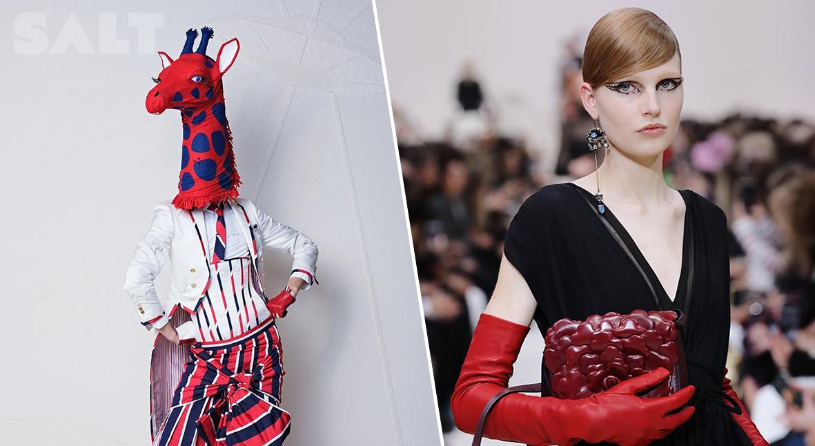 Salt: главное здесь, остальное по вкусу - Неделя моды в Париже: сказка от Thom Browne, классика Valentino и животные у Stella McCartney