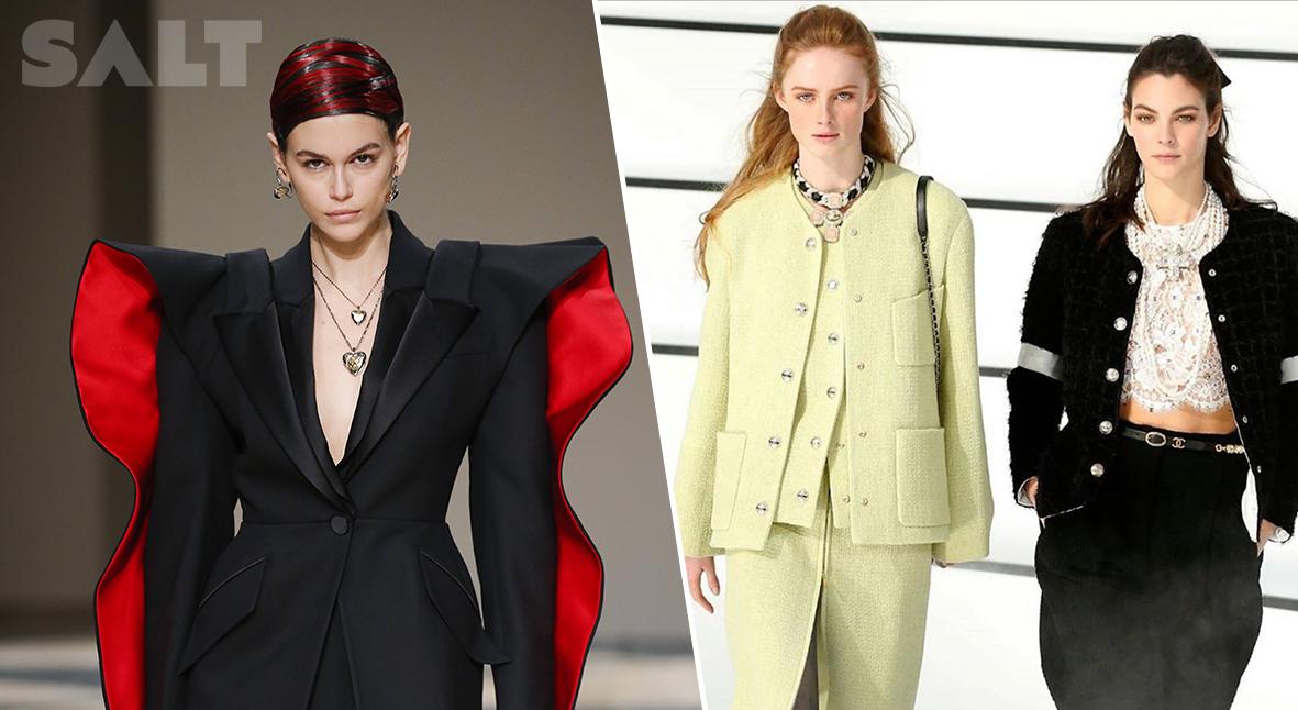 Salt: главное здесь, остальное по вкусу - Неделя моды в Париже: фольклор на Alexander McQueen и украшения-кресты от Chanel