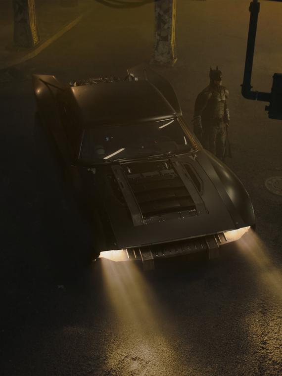 Salt: главное здесь, остальное по вкусу - Мэтт Ривз показал первые кадры с автомобилем из нового «Бэтмена»