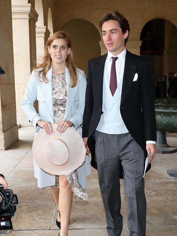 Salt: главное здесь, остальное по вкусу - Принцесса Беатрис и Эдоардо Мапелли-Моцци отказались от свадебного приема