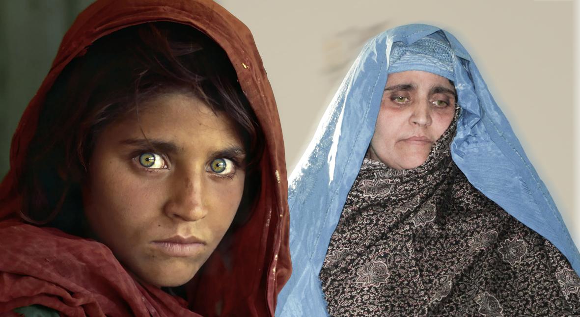 Salt: главное здесь, остальное по вкусу - «Афганская девочка»: кто такая Шарбат Гула и что скрывается за ее знаменитым фото