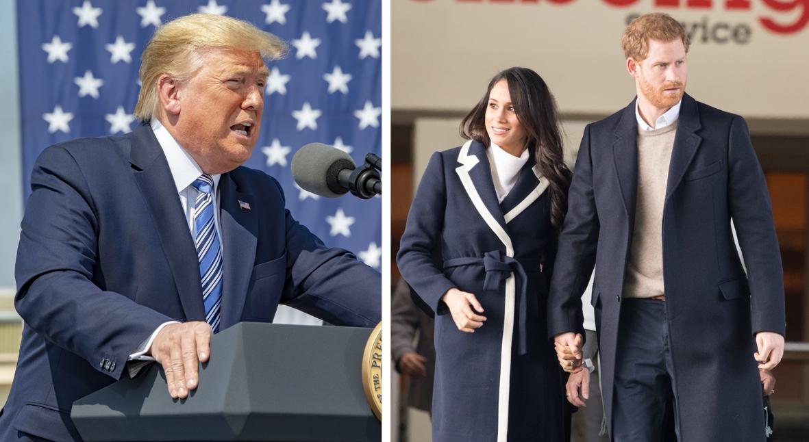 Salt: главное здесь, остальное по вкусу - Дональд Трамп потребовал, чтобы принц Гарри и Меган Маркл сами оплатили свою охрану в США