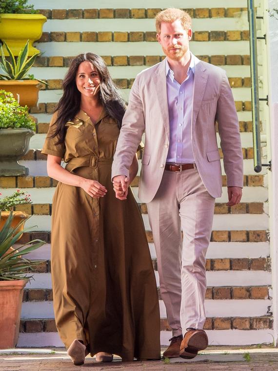 Salt: главное здесь, остальное по вкусу - Меган Маркл и принц Гарри попрощались с поклонниками в Instagram