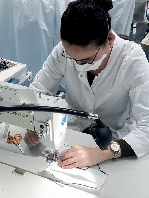 Salt: главное здесь, остальное по вкусу - Dior и Lamborghini начали производство медицинских масок для врачей