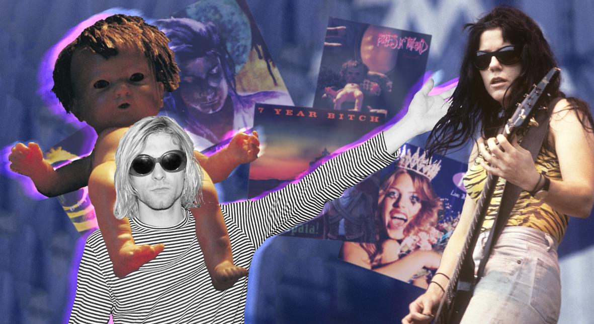 Salt: главное здесь, остальное по вкусу - Феминизм и антимилитаризм: 5 женских гранж-альбомов, которые понравятся поклонникам Nirvana