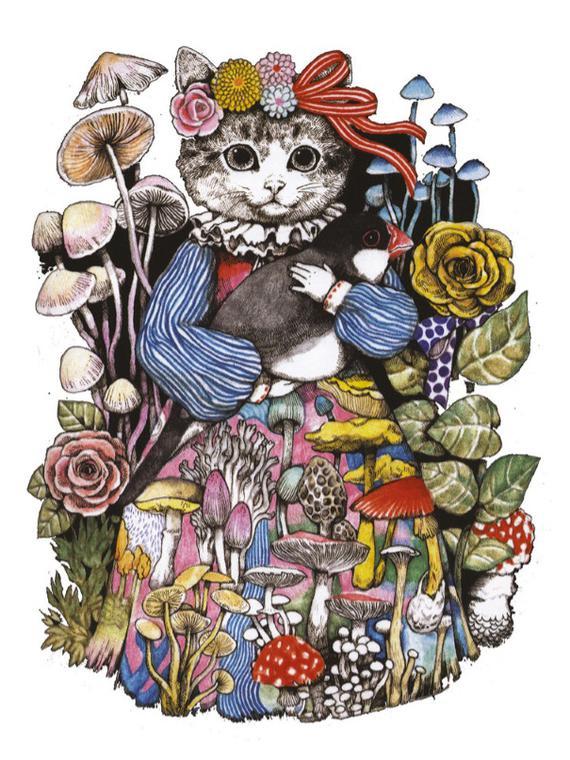 Salt: главное здесь, остальное по вкусу - Gucci и японская художница Юко Хигучи создали альбом с головоломками для детей — его можно скачать бесплатно