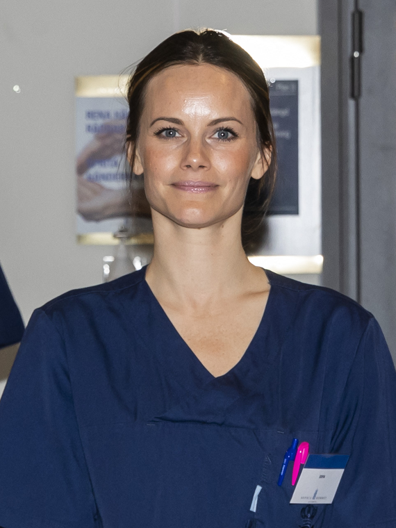 Salt: главное здесь, остальное по вкусу - Шведская принцесса София начала работать в больнице, чтобы помочь врачам