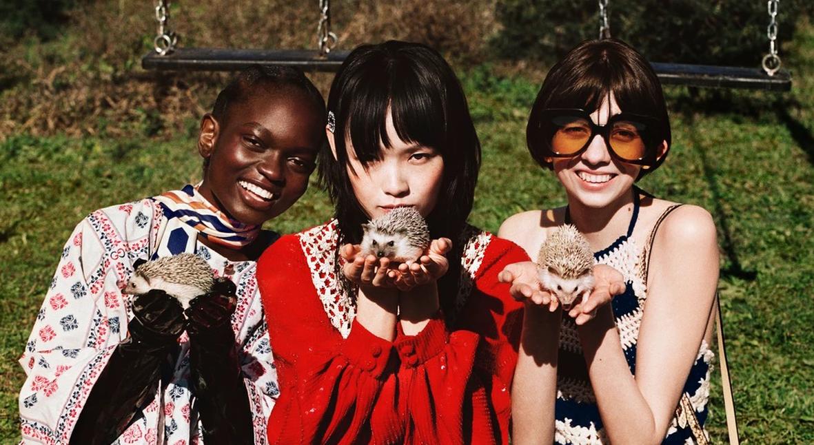 Salt: главное здесь, остальное по вкусу - В мире животных: Gucci показали кроликов, оленей и скунсов в новой рекламной кампании