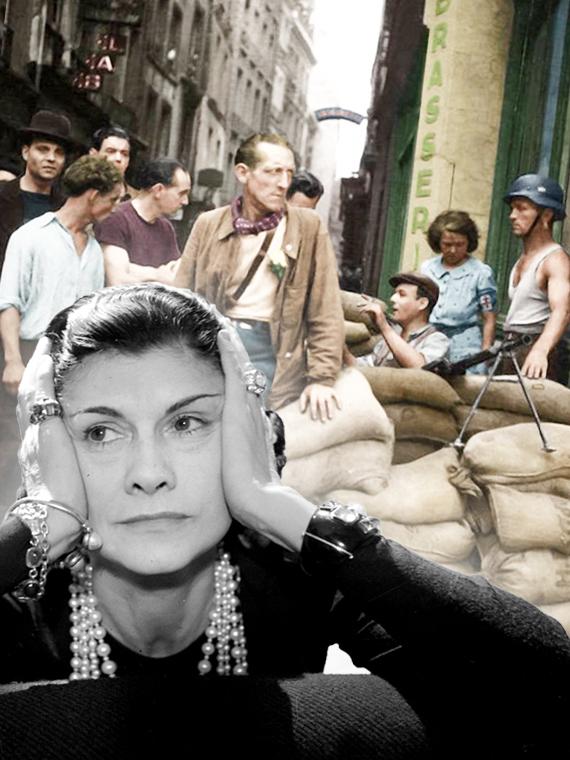 Salt: главное здесь, остальное по вкусу - Сотрудничество с нацистами и первые милитари-коллекции: чем занималась Шанель и другие дизайнеры во время Второй мировой войны