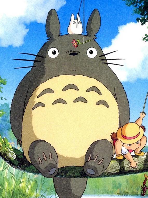 Salt: главное здесь, остальное по вкусу - Продюсер студии Ghibli показал, как правильно нарисовать Тоторо