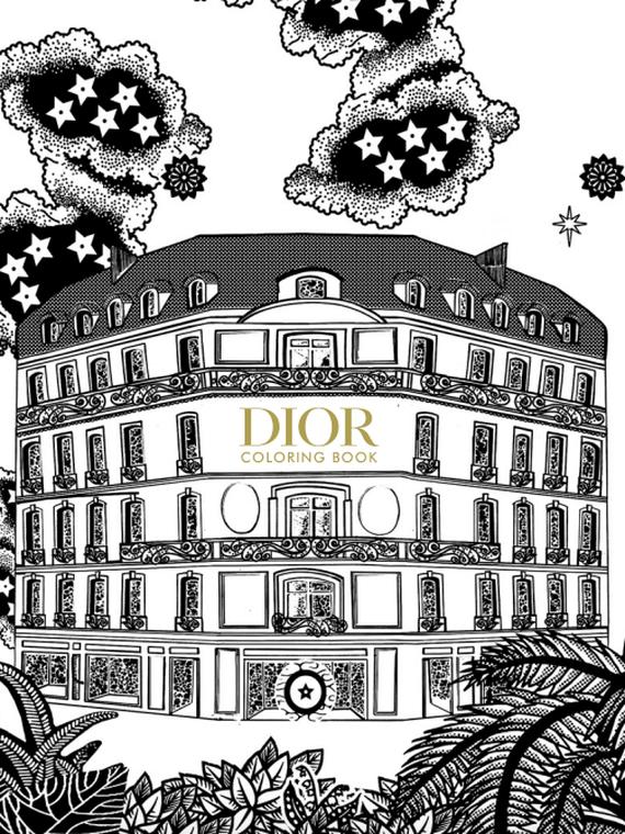 Salt: главное здесь, остальное по вкусу - Dior выпустил раскраску с принтами из круизной коллекции — ее можно скачать бесплатно