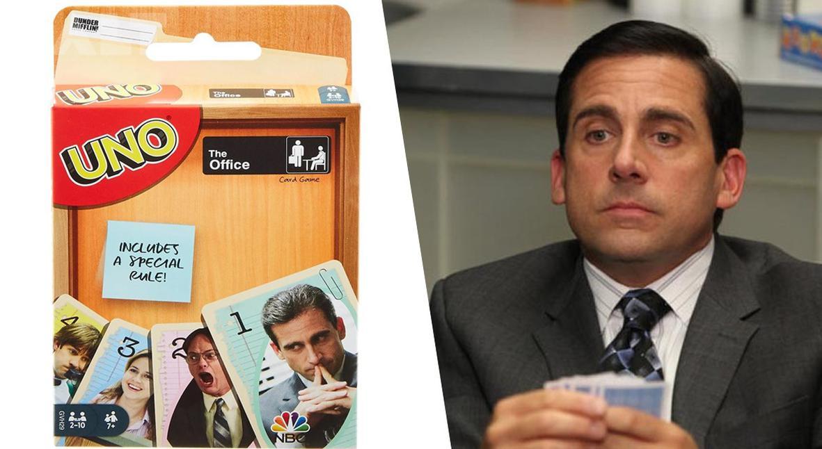 Salt: главное здесь, остальное по вкусу - Mattel выпустил специальную версию UNO с героями «Офиса»