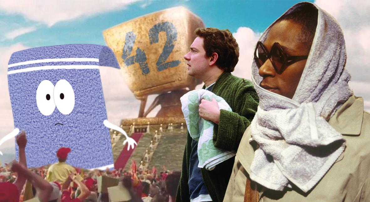 Salt: главное здесь, остальное по вкусу - День полотенца: вспоминаем Дугласа Адамса и выясняем, где найти 42 правильных полотенца