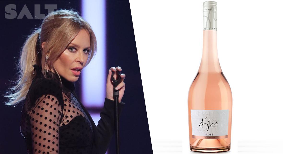 Salt: главное здесь, остальное по вкусу - Кайли Миноуг создала свой винный бренд — и уже выпустила розе