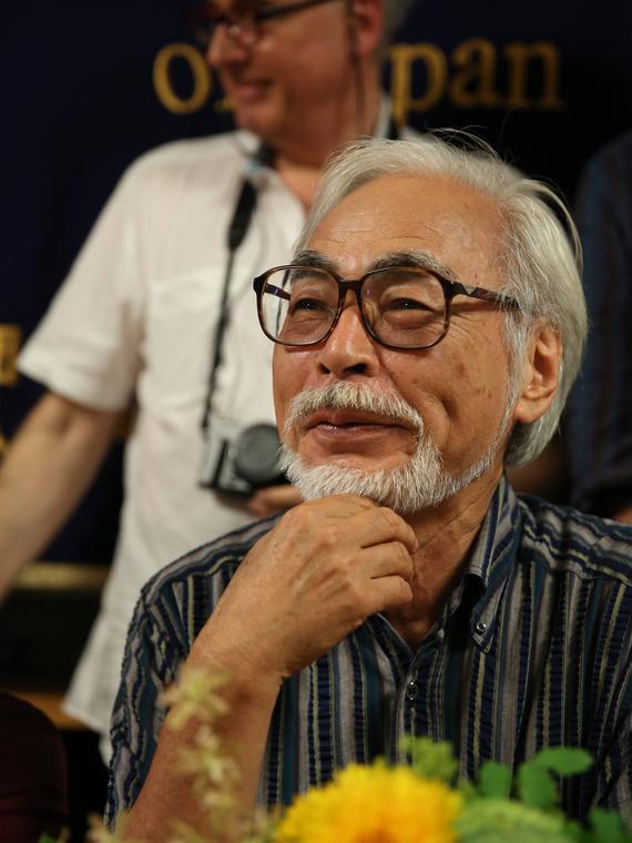 Salt: главное здесь, остальное по вкусу - Хаяо Миядзаки с сыном работают над новым мультфильмом по роману Дианы Уинн Джонс