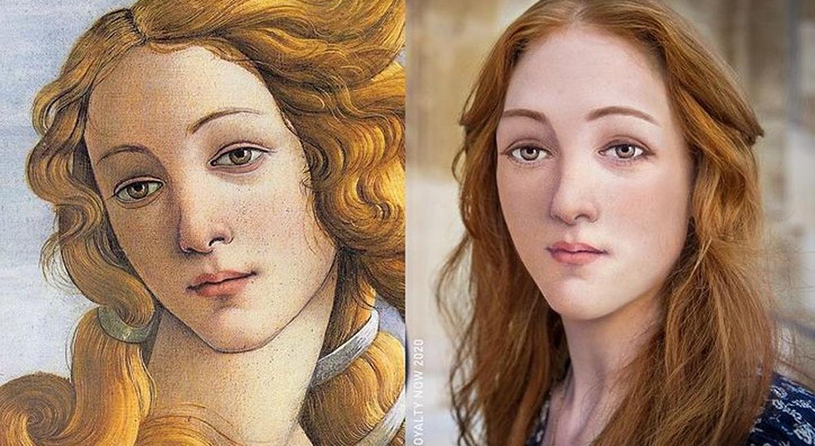 Salt: главное здесь, остальное по вкусу - Как бы выглядели современные Венера и Анна Болейн? Дизайнер показывает свои версии