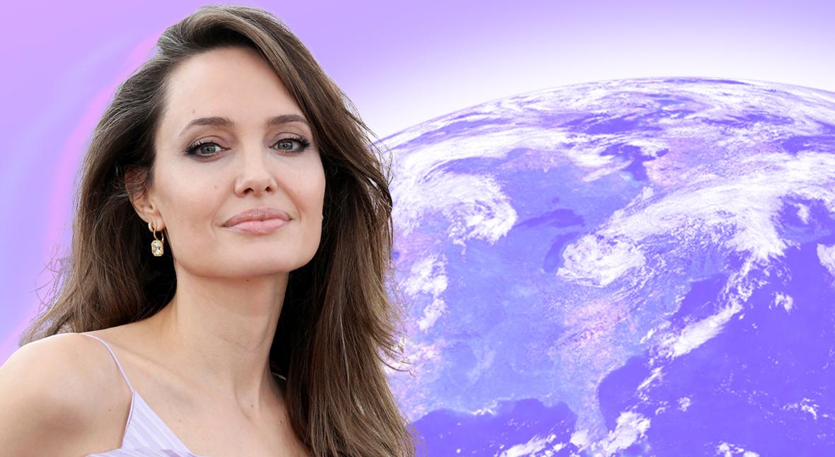 Salt: главное здесь, остальное по вкусу - Актриса, изменившая мир: Анджелине Джоли 45