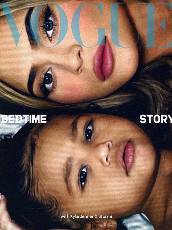 Salt: главное здесь, остальное по вкусу - Кайли Дженнер и ее дочка Сторми снялись для обложки Vogue Czechoslovakia
