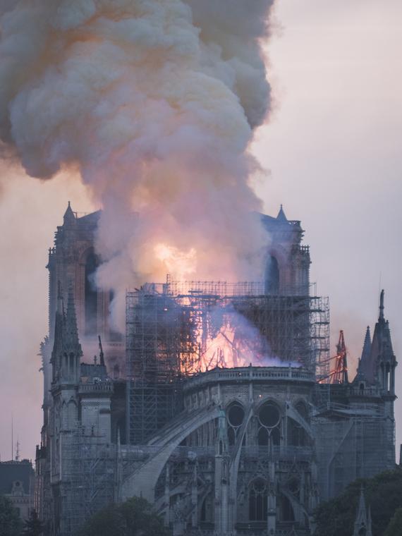 Salt: главное здесь, остальное по вкусу - О пожаре в Соборе Парижской Богоматери снимут фильм